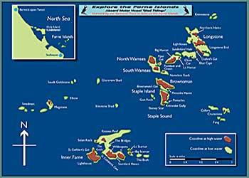 OUR FARNE ISLAND MAP
